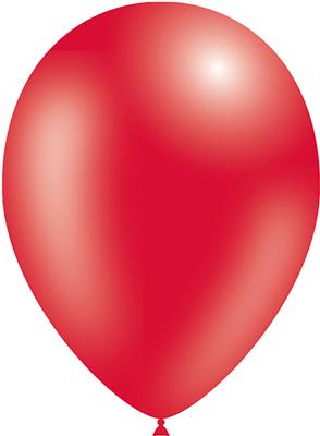 Decotex Pro 11inch Metallic No.16 Red x50pcs - Latex Balloons