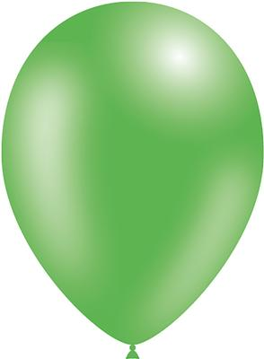 Decotex Pro 11inch Metallic No.14 Lime Green x50pcs - Latex Balloons