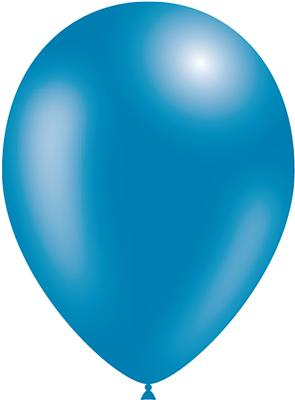 Decotex Pro 11inch Metallic No.85 Blue x50pcs - Latex Balloons