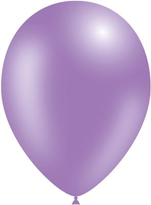 Decotex Pro 11inch Metallic No.45 Lavender x50pcs - Latex Balloons