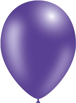 Decotex Pro 11inch Metallic No.36 Purple x50pcs - Latex Balloons