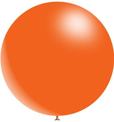Decotex Pro 36inch Fashion Solid No.04 Orange x 2pcs - Latex Balloons