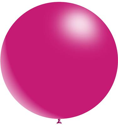 Decotex Pro 36inch Fashion Solid No.28 Fuchsia x2pcs - Latex Balloons