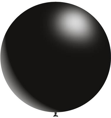 Decotex Pro 36inch Fashion Solid No.20 Black x2pcs - Latex Balloons