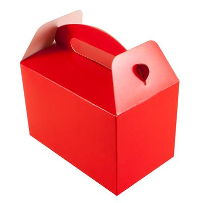 Oaktree Party Box 100mm x 154mm x 92mm 6pcs Red No.16 - Accessories