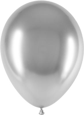 Decotex Pro 11inch Chromium No.24 Silver x 25 pcs - Latex Balloons