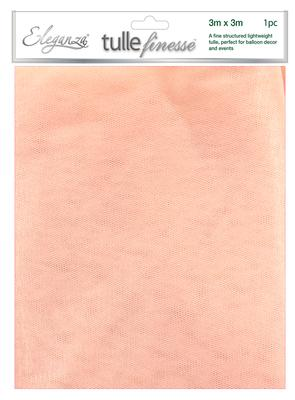 Eleganza Tulle Finesse 3m x 3m 1pc bag Rose Gold No.87 - Organza / Fabric