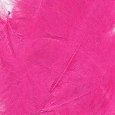 Eleganza Craft Marabout Feathers Mixed sizes 3inch-8inch 8g bag Fuchsia No.28 - Accessories