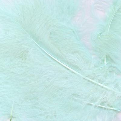 Eleganza Craft Marabout Feathers Mixed sizes 3inch-8inch 8g bag Lt. Blue No.25 - Accessories