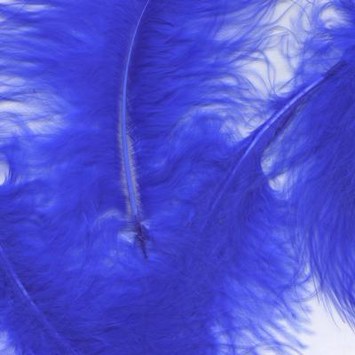 Eleganza Craft Marabout Feathers Mixed sizes 3inch-8inch 8g bag Royal Blue No.18 - Accessories