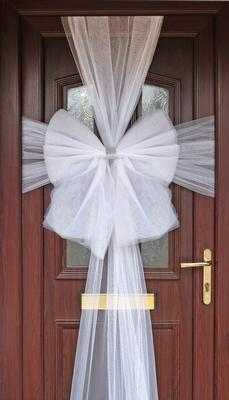 Eleganza Door Bow White - Accessories