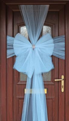 Eleganza Door Bow Lt Blue - Accessories