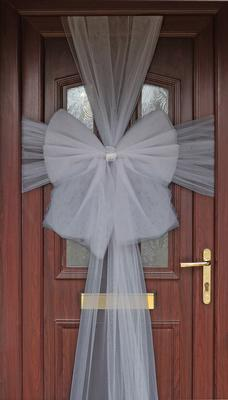 Eleganza Door Bow Silver - Accessories
