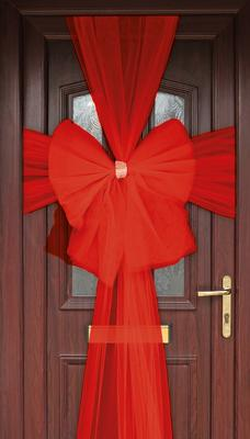 Eleganza Door Bow Red - Accessories