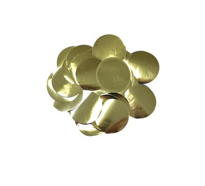 Oaktree Metallic Foil Confetti 10mm x 14g Gold - Accessories