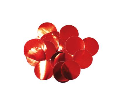 Oaktree Metallic Foil Confetti 10mm x 14g Red - Accessories