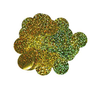 Oaktree Holographic Foil Confetti 10mm x 50g Gold - Accessories