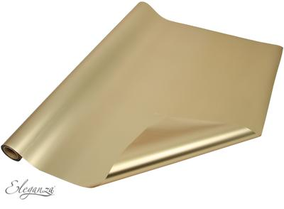 Eleganza Satin Luxe 60cm x 10m Satin Vintage Gold No.105 - Packaging