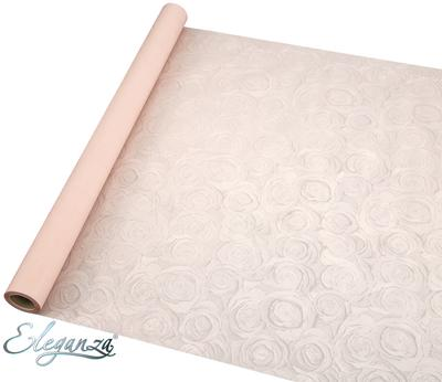 Eleganza Shimmer Rose Wrap 60cm x 10m Pastel Peach No.05 - Packaging