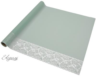 Eleganza Matte Decorative Edge Wrap 50cm x 10m Sage No.51 - Packaging
