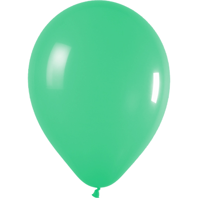 11inch Fashion Solid 030 Green x100 - Latex Balloons