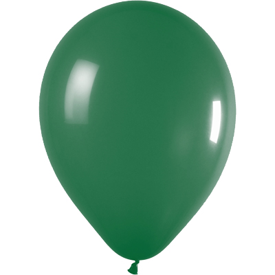 11inch Fashion Solid 032 Forest Green x100 - Latex Balloons