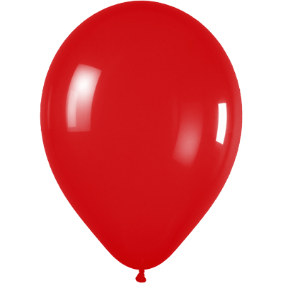11inch Crystal 315 Red x100 - Latex Balloons