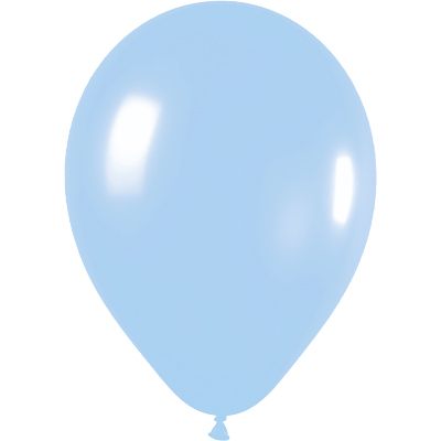 11inch Pearl 440 Blue x100 - Latex Balloons
