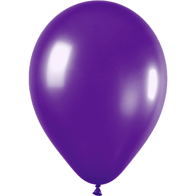 11inch Metallic 551 Violet x100 - Latex Balloons