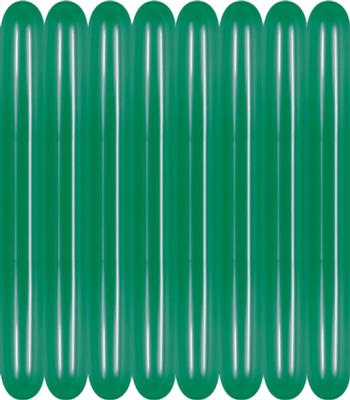 260 Modelling Metallic 530 Green x100 - Latex Balloons