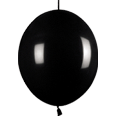 Link-o-Loon Fashion Black 080 - Latex Balloons