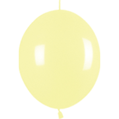 Link-o-Loon Pastel Yellow 120 - Latex Balloons