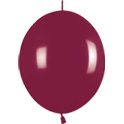 Link-o-Loon Chystal Burgundy 318 - Latex Balloons