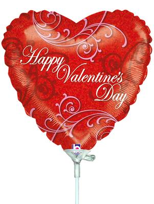 Betallic 9inch Lavish Valentines Day (Inflated) - Seasonal