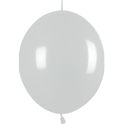Link-o-Loon Pearl 481 Silver x25 - Latex Balloons