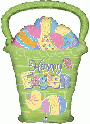 Easter Egg Basket 27inch (B) - Seasonal