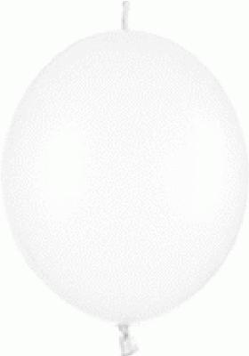Link-o-Loon Pearl 405 Pure White x25 - Latex Balloons
