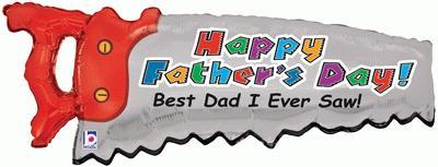 Father's Day Saw 39inch (C) - Seasonal