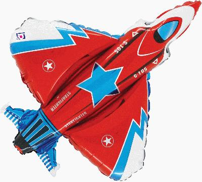 38inch / 96.5cm Starfighter Packaged - Foil Balloons