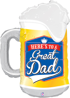 Fathers Day Frosty Mug 34inch (C) - Seasonal