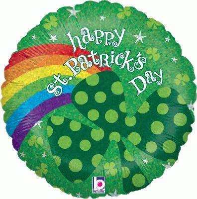 St. Patricks Rainbow Holographic - Seasonal