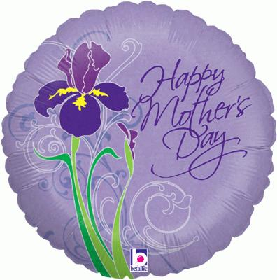 Mothers Day Iris Holographic - Seasonal