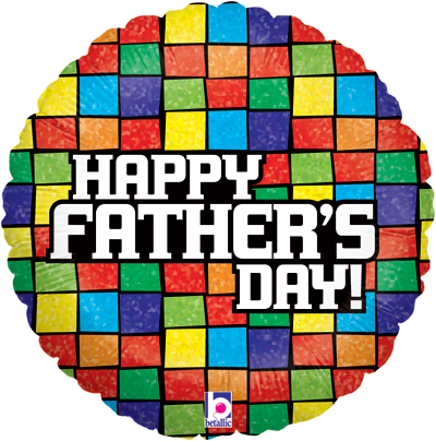 Mosaic Fathers Day Holographic - Seasonal