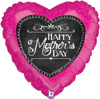 ChalkBoard Script Mothers Day Holographic - Seasonal
