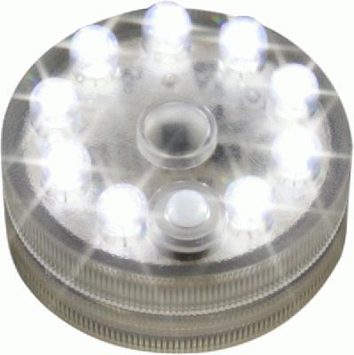 Sumix9  2.5inch Diameter Submersible base with 9 LED lights R/C capable - L.E.D Lights
