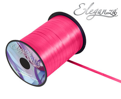 Eleganza Poly Curling Ribbon 5mm x500yds No.30 Deep Cerise - Ribbons
