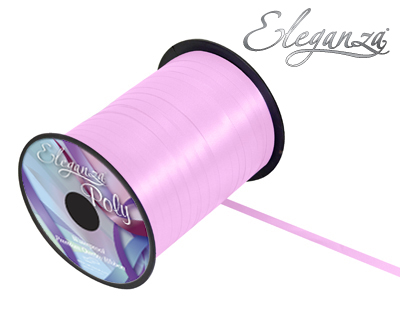 Eleganza Poly Curling Ribbon 5mm x500yds No.22 Fashion Pink - Ribbons