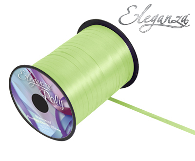 Eleganza Poly Curling Ribbon 5mm x500yds No.13 Mint - Ribbons