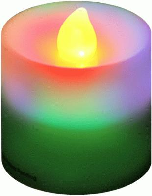 Votive Candle RGB Flicker (Special Net Price) - L.E.D Lights
