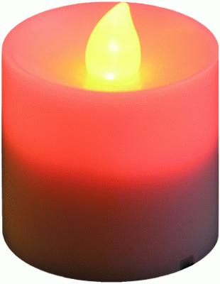 Votive Candle Red Flicker (Special Net Price) - L.E.D Lights